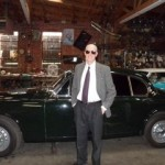 Complete MK II Interior and it*s Owner Dr. Bernie Weintraub