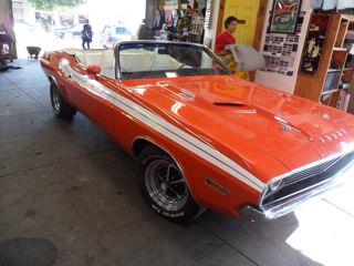 1971 Dodge Challenger Convertible Top Repair Markel S