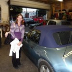 BMW Z-4 New Convertible Top Installation