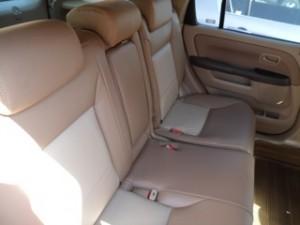 2 Tone Honda Interior CRV