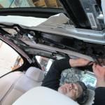 BMW 5 Series Headliner to Suede