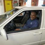 Happy Client and his Volvo