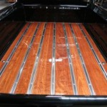 Glossy Wooden Truck Bed