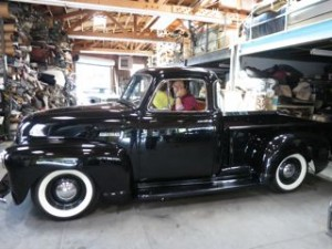 52 Chevy 5 Window Pickup Truck
