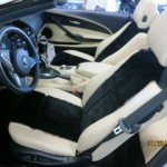 650 I Convertible with Sheepskin Vests and matching Sheepskin Floormats