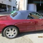 Thunderbird Convertible Top New Color