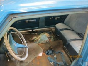 Dodge Dart Auto Interior Before Shot