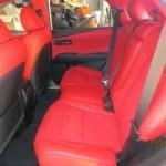 Lexus RX Rear Leather Alcantera Interior