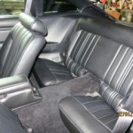 Interior of Mustang II from White to Black