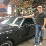 Mustang II Renovation from White to Black