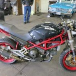 Ducati Custom Seat with Rear Extension