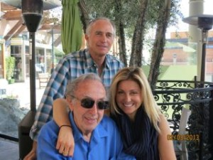Fred Hauswirth, Heather Hauswirth and I in Rancho Mirage for Fathers Day