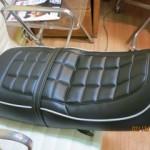 Vintage Honda 550 Motorcycle Seat.  Custom  Design