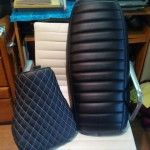 Artistic Motorcycle Seats