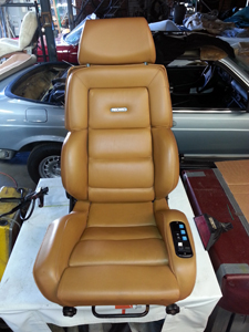 Recaro seat 1973 Mercedez Benz 450 sl