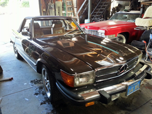 1973 Mercedez Benz 450 sl Canvas convertible top