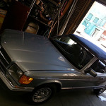 1986 SEC Mercedes Benz Convertible