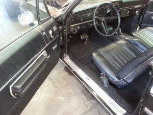 1968 Chevy Impala SS Driver Seat