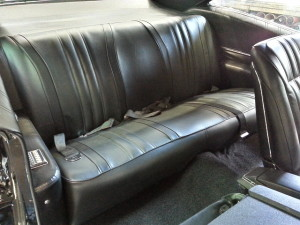 1968 Chevy Impala SS Rear Seat
