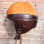 NFL throwback leather wrapped helmet for Junkfood