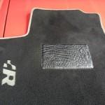 VW R32 floor mat repair with crocodile